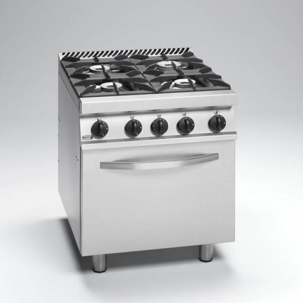 Wyposażenie gastronomii, pizzerii, Kuchnie gazowe, Kuchnia